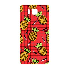 Fruit Pineapple Red Yellow Green Samsung Galaxy Alpha Hardshell Back Case by Alisyart