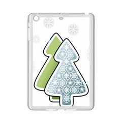 Tree Spruce Xmasts Cool Snow Ipad Mini 2 Enamel Coated Cases