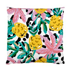Fruit Pattern Pineapple Leaf Standard Cushion Case (two Sides)