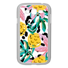 Fruit Pattern Pineapple Leaf Samsung Galaxy Grand Duos I9082 Case (white) by Alisyart