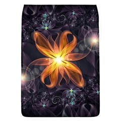 Beautiful Orange Star Lily Fractal Flower At Night Flap Covers (s)  by jayaprime