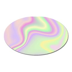 Holographic Design Oval Magnet by tarastyle