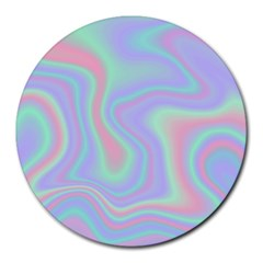 Holographic Design Round Mousepads by tarastyle