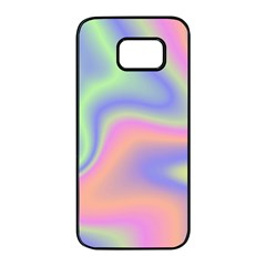 Holographic Design Samsung Galaxy S7 Edge Black Seamless Case by tarastyle