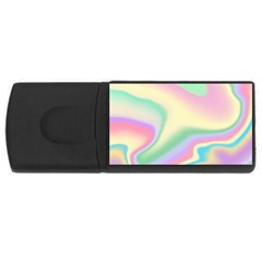 Holographic Design Rectangular Usb Flash Drive