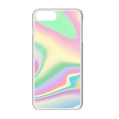 Holographic Design Apple Iphone 7 Plus Seamless Case (white)