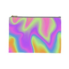 Holographic Design Cosmetic Bag (large)