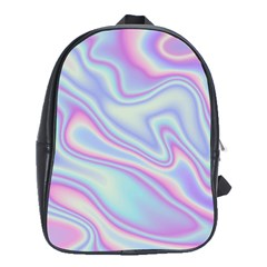 Holographic Design School Bag (xl) by tarastyle