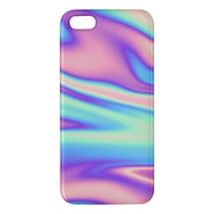 Holographic Design Apple Iphone 5 Premium Hardshell Case by tarastyle