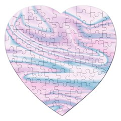 Holographic Design Jigsaw Puzzle (heart) by tarastyle