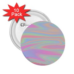 Holographic Design 2 25  Buttons (10 Pack)  by tarastyle