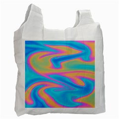 Holographic Design Recycle Bag (two Side)  by tarastyle