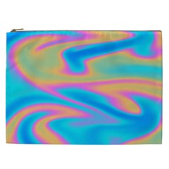 Holographic Design Cosmetic Bag (xxl)  by tarastyle