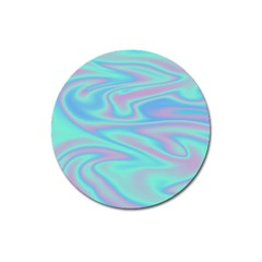 Holographic Design Magnet 3  (round) by tarastyle