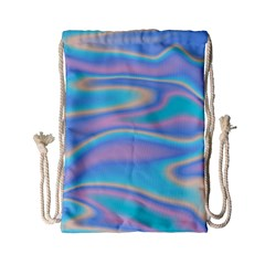 Holographic Design Drawstring Bag (small) by tarastyle