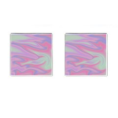 Holographic Design Cufflinks (square) by tarastyle