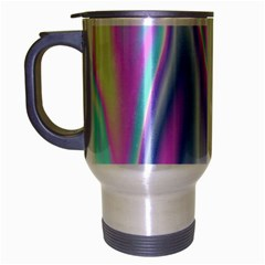 Holographic Design Travel Mug (silver Gray) by tarastyle