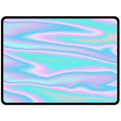 Holographic Design Double Sided Fleece Blanket (large)  by tarastyle