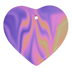 Holographic Design Ornament (heart) by tarastyle