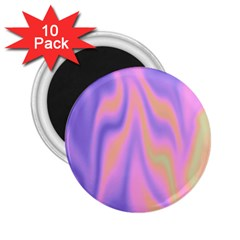 Holographic Design 2 25  Magnets (10 Pack)