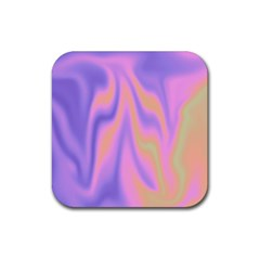 Holographic Design Rubber Coaster (square)