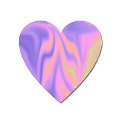 Holographic Design Heart Magnet by tarastyle