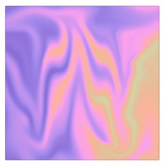 Holographic Design Large Satin Scarf (square)