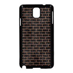 Brick1 Black Marble & Brown Denim (r) Samsung Galaxy Note 3 Neo Hardshell Case (black) by trendistuff