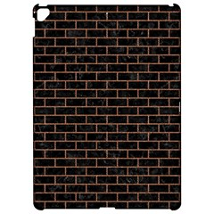 Brick1 Black Marble & Brown Denim (r) Apple Ipad Pro 12 9   Hardshell Case by trendistuff