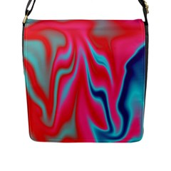 Holographic Design Flap Messenger Bag (l)  by tarastyle
