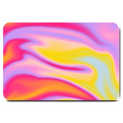 Holographic Design Large Doormat  by tarastyle