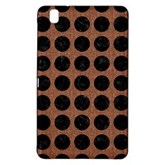 Circles1 Black Marble & Brown Denim Samsung Galaxy Tab Pro 8 4 Hardshell Case by trendistuff