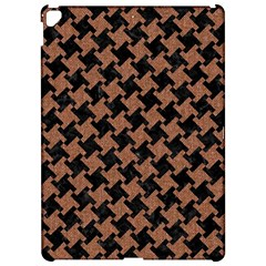 Houndstooth2 Black Marble & Brown Denim Apple Ipad Pro 12 9   Hardshell Case by trendistuff