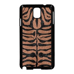Skin2 Black Marble & Brown Denim Samsung Galaxy Note 3 Neo Hardshell Case (black) by trendistuff
