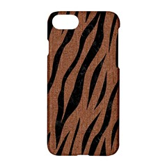 Skin3 Black Marble & Brown Denim Apple Iphone 8 Hardshell Case by trendistuff