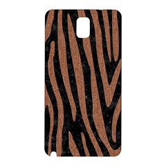 Skin4 Black Marble & Brown Denim Samsung Galaxy Note 3 N9005 Hardshell Back Case by trendistuff