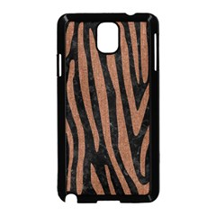 Skin4 Black Marble & Brown Denim Samsung Galaxy Note 3 Neo Hardshell Case (black) by trendistuff