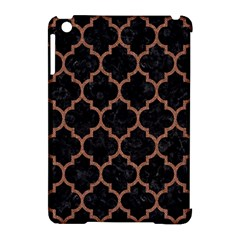 Tile1 Black Marble & Brown Denim (r) Apple Ipad Mini Hardshell Case (compatible With Smart Cover) by trendistuff