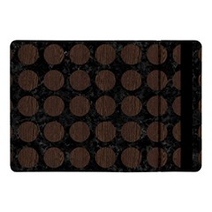Circles1 Black Marble & Dark Brown Wood (r) Apple Ipad Pro 10 5   Flip Case by trendistuff