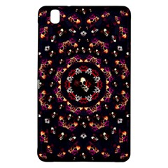 Floral Skulls In The Darkest Environment Samsung Galaxy Tab Pro 8 4 Hardshell Case by pepitasart