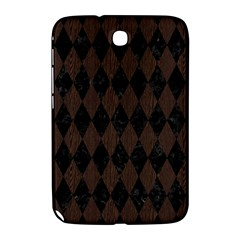Diamond1 Black Marble & Dark Brown Wood Samsung Galaxy Note 8 0 N5100 Hardshell Case  by trendistuff