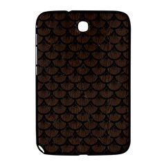 Scales3 Black Marble & Dark Brown Wood Samsung Galaxy Note 8 0 N5100 Hardshell Case  by trendistuff
