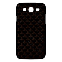 Scales3 Black Marble & Dark Brown Wood (r) Samsung Galaxy Mega 5 8 I9152 Hardshell Case  by trendistuff