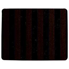 Stripes1 Black Marble & Dark Brown Wood Jigsaw Puzzle Photo Stand (rectangular) by trendistuff