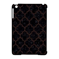 Tile1 Black Marble & Dark Brown Wood (r) Apple Ipad Mini Hardshell Case (compatible With Smart Cover) by trendistuff
