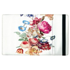 Fleur Vintage Floral Painting Apple Ipad 2 Flip Case by Celenk