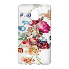 Fleur Vintage Floral Painting Galaxy Note Edge by Celenk