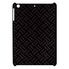 Woven2 Black Marble & Dark Brown Wood (r) Apple Ipad Mini Hardshell Case by trendistuff