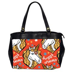 Unicorn Oversize Office Handbag (two Sides) by Wanni