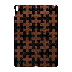 Puzzle1 Black Marble & Dull Brown Leather Apple Ipad Pro 10 5   Hardshell Case by trendistuff